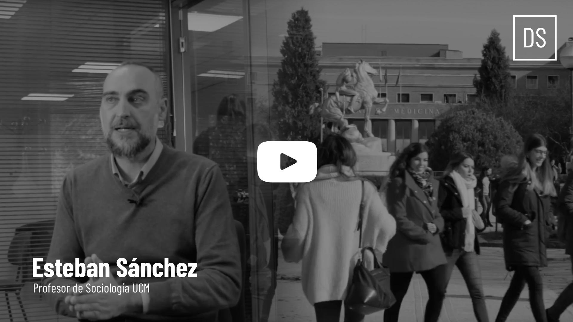Vídeo Conversamos Esteban Sánchez